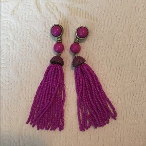 Baublebar tassel earrings