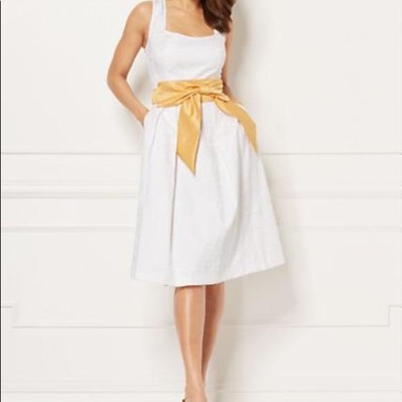 New York & Company Dresses & Skirts - Paper white Catarina Dress Tall