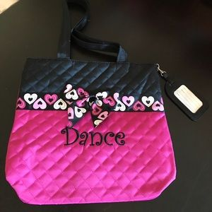 Adorable quilted Dance bag