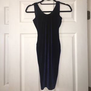 American Apparel Velvet Bodycon Dress