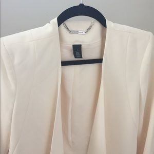 WHBM cream jacket