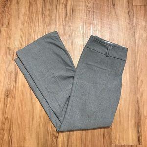 Light gray Express editor pants