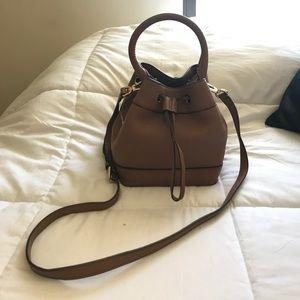 Tory Burch Tan Bucket Bag
