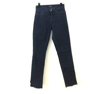 NYDJ tie dye bottom jeans