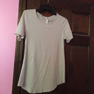 Lululemon Grey short sleeve shirt