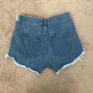 Worn once Express high waisted shorts