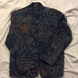 Chico vintage jacket size 2 , women's 2x