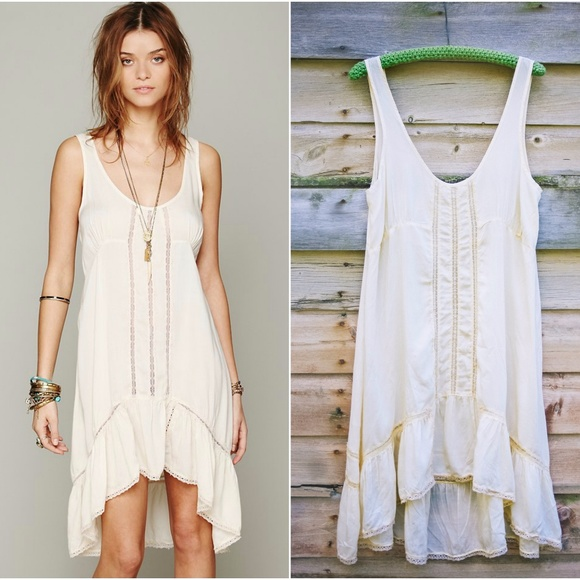 0b9a3ed7141d4 Free People Other - Free People Parisian Slip Dress in French Vanilla