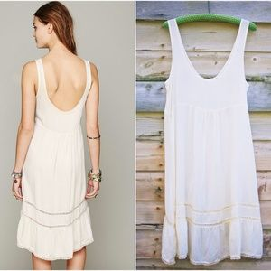 b555a2a6e4f14 Free People Intimates & Sleepwear - Free People Parisian Slip Dress in  French Vanilla