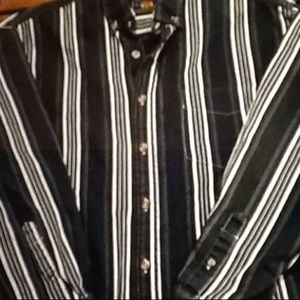 Trendy stripped tee shirt