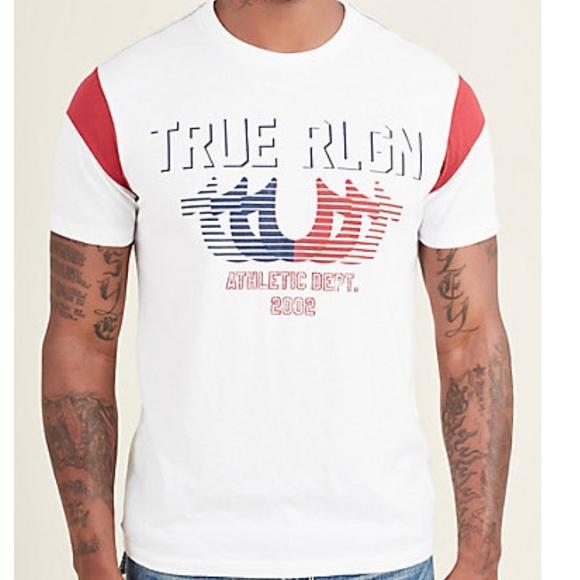 9c8bf5e42 NWT True Religion Horseshoe tee