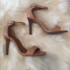 Lucky Brand 🍀 nude heels sz 7