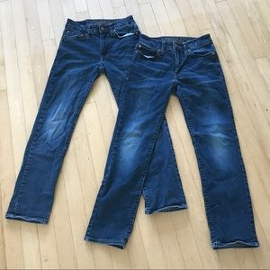 TWO Pairs of American Eagle Jeans!