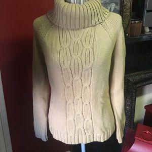 Ann Taylor Loft Cable Knit Sweater 🍁