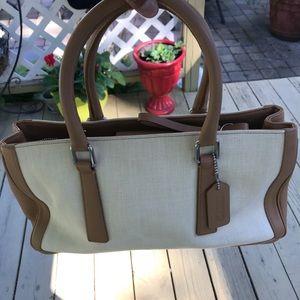 Authentic ladies coach hand bag