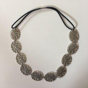 Silver headband from Francesca's