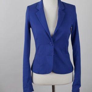 H&M Divided royal blue blazer jacket women suit 2