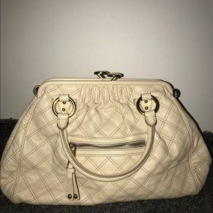 Marc Jacobs Stan Quilted Leather Satchel Bag