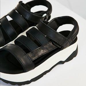 06a269fd644 Teva Shoes - 🔥HP🔥NWOT Teva Zamora Platform Slingback Sandal