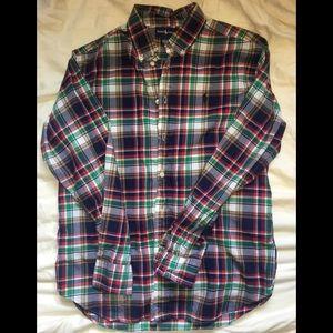 Ralph Lauren Plaid Button Up