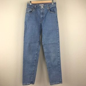 Levi's 550 relaxed leg tapered ankle Mom jeans