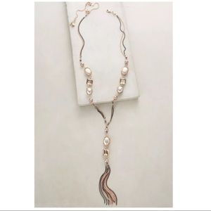NWT Anthropologie Jessamine Lariat Necklace