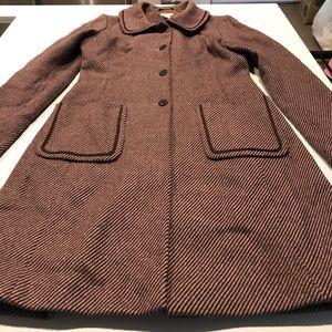 Halogen wool trendy coat.