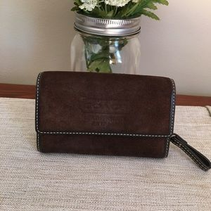 COACH small brown wallet