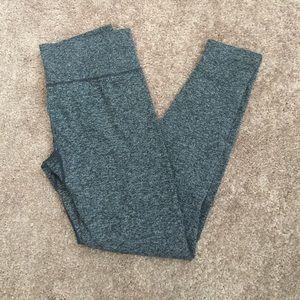 Workout leggings heather gray