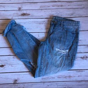 Gap boyfriend jeans! Good condition! Size 27R