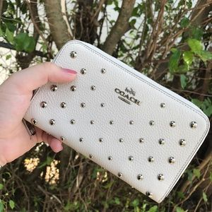 Coach Studded Wallet