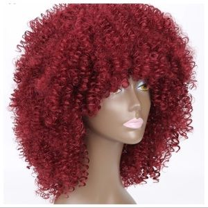 Chaka Afro Kinky Curly  Wig