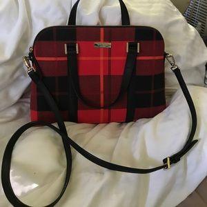 Kate Spade tartan plaid handbag