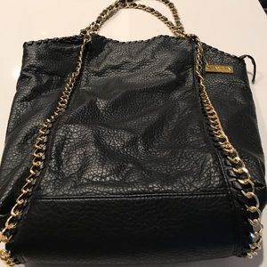Leather/Gold Amrita Bag