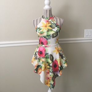 😍Floral romper💕 Not New
