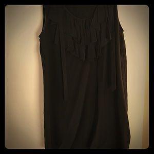 Classic black shift dress