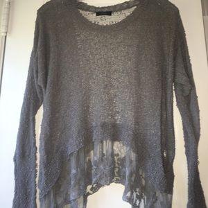 LF Millau Lace Grey sweater size S