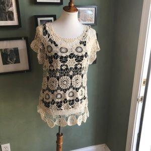 Bohemian Crochet Top