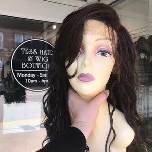 Mocha new wig color Alert Swisslace Lacefront full