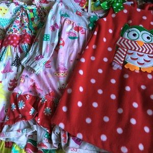 Other - 3 Christmas Themed 3T dresses