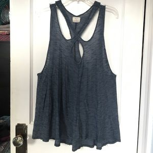 Urban Outfitters Cut-Out Tank by Pins and Needles