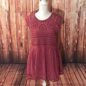 Ecote Purple Dress Size Small