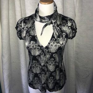 Free People silk blouse
