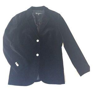 Brooks Brothers Black Velvet Blazer