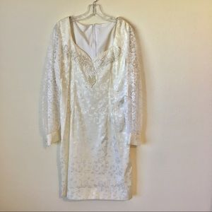 Dresses & Skirts - Vintage hand made wedding dress