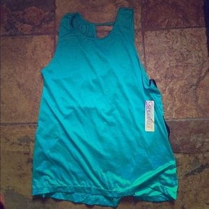 NWT Teal Workout Top