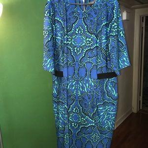 Gorgeous size 22W shift dress!