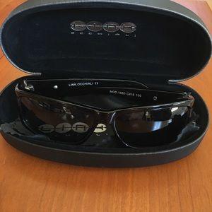 LINK Occhiali Unisex Sunglasses & Case-Nearly New!