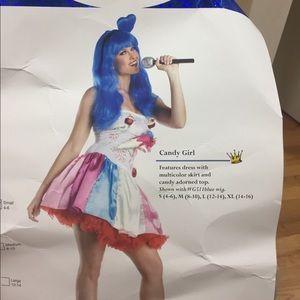 Katie Perry Halloween costume
