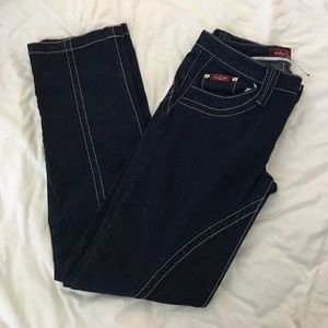 Baby Phat jeans size 11  bling pockets. Great